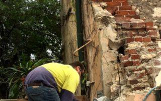 wall cutting